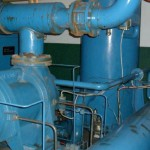 Remove, service and install refrigeration compressors.