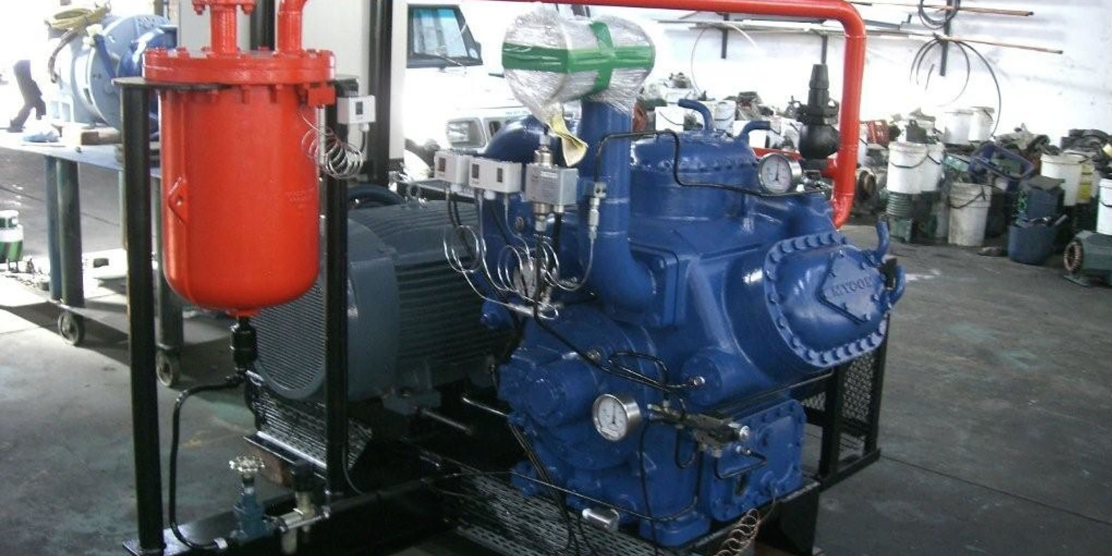 Remanufactured ammonia engineering set